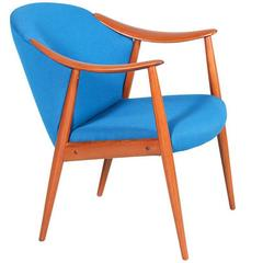 "Gerhard Berg ""Tyrol"" Easy Chair for L.K. Hjelle"
