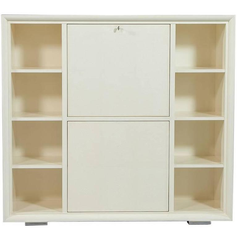 Cream One Fifth Bar Cabinet