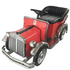 Mid-Century Carousel Ride Rolls Royce Automobile