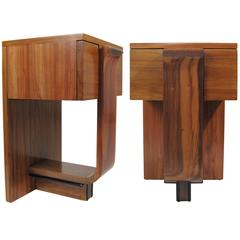 Nightstands, Gastón Chaussat for Palacio De Hierro, Mexico, circa 1940