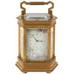 Tiffany & Co. French Neoclassical Style Repeater Carriage Clock