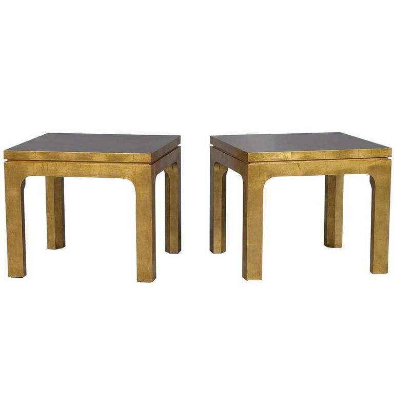 Gold Gilt Side Tables