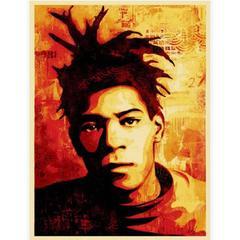 Shepard Fairey, Basquiat Screen Print