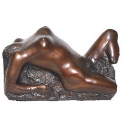 Cera Persa Bronze Sculpture by Oskar Bottoli, 1980