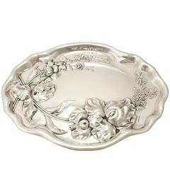 Antique Sterling Silver Dressing Table Tray