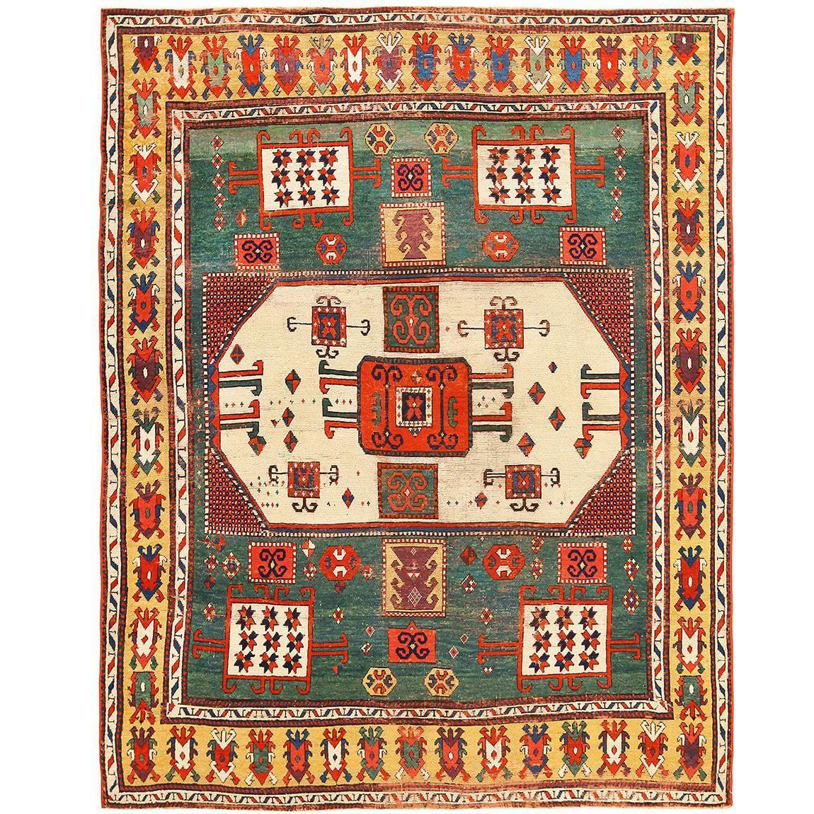 Antique Eberhart Herrmann Kazak Rug At
