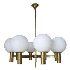 Globes Chandelier by Sergio Mazza