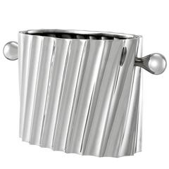 Ray Wine Cooler in Nickel Finish