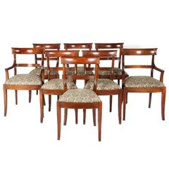 Set of Eight Early 20th Century Dining Chairs