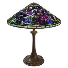 "Tiffany Studios ""Clematis"" Table Lamp"