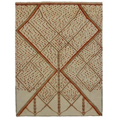 New Contemporary Moroccan Area Rug With Modern Northwestern Style