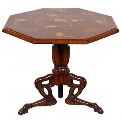 Antique Italian Grand Tour Neoclassical Style Centre Table