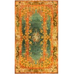 Antique Art Nouveau Donegal Rug. Size: 10 ft 2 in x 17 ft (3.1 m x 5.18 m)