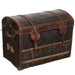 Au Depart Leather Trunk