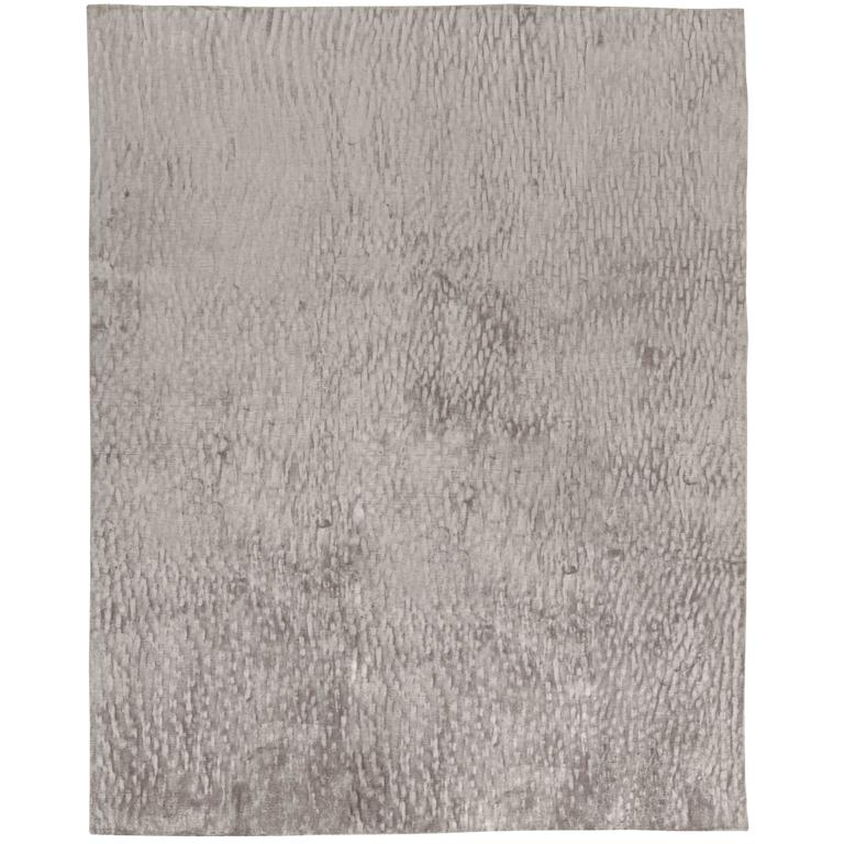 Contemporary Silk Dunes In Grey At 1stdibs