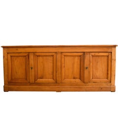 19th Century French Louis Philippe Fruitwood Enfilade