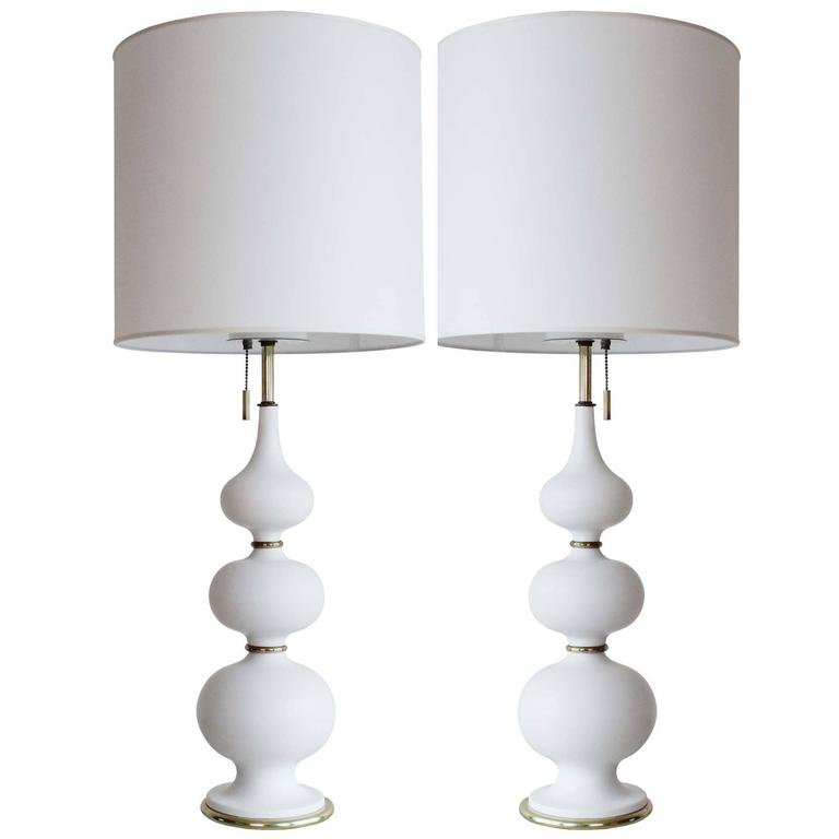 Pair of Gerald Thurston Lamps For Sale