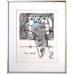 Le Corbusier Unité, Planche 18, 1963