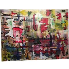 David Harper, When in Rome, Large Original on Canvas