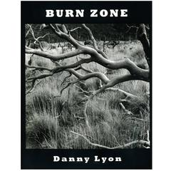 Danny Lyon Burn Zone Hand Signed Photography Book