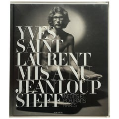 Yves Saint Laurent Mis à Nu – Jeanloup Sieff
