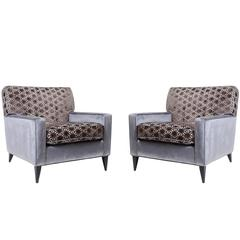 Paul McCobb Club Chairs for Planner Group, Pair