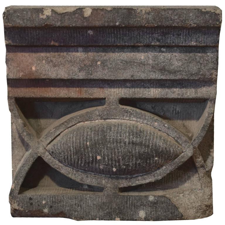 Sullivan Designed Terra Cotta Fragment from the Chicago Stock Exchange