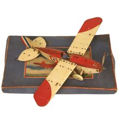 Meccano Airplane Kit No1 in the Original Box