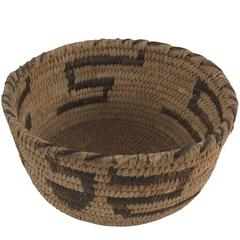 Small Twined Native American Bowl