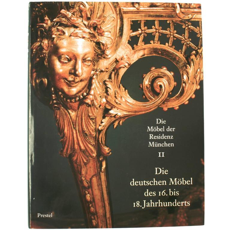 Die Möbel Der Residenz München, First Edition For Sale