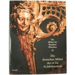 Die Möbel Der Residenz München, First Edition