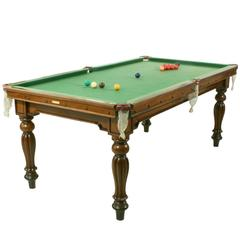 Billiard or Snooker Table by Orme & Sons
