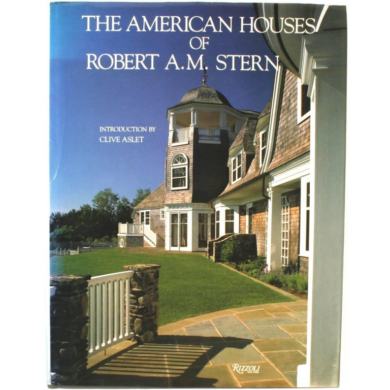 American Houses of Robert A.M. Stern First Edition For Sale