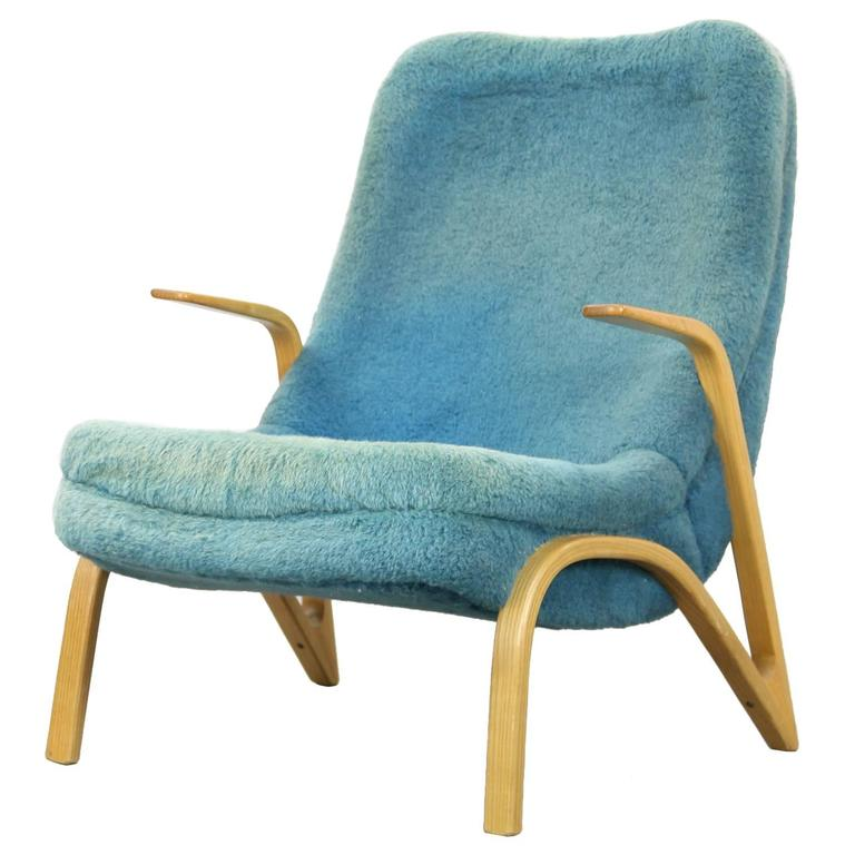 Lounge Chair by Paul Bode, Made in Germany, 1950s For Sale