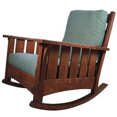 Oversize Mission Lifetime Rocking Chair