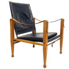 Danish Safari Chair by Kaare Klint
