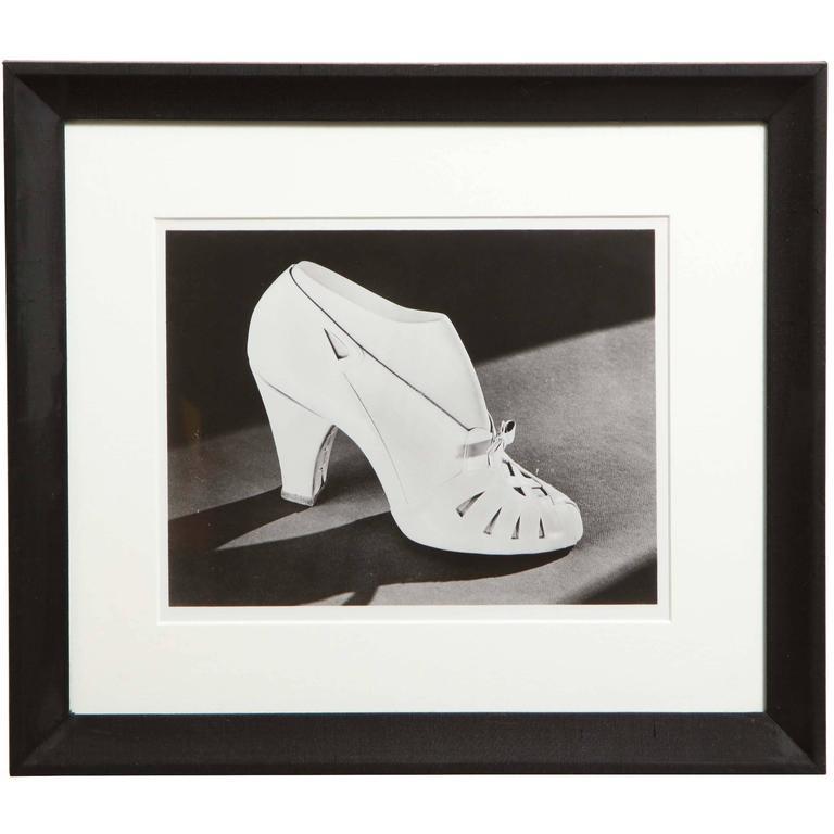 1940s John Stuart Cloud Shoe, Photograph