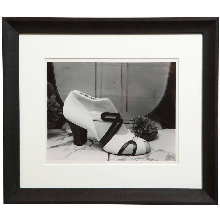 John Stuart Cloud Shoe Photograph