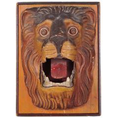 Carnival Lion's Head