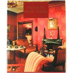 """Remarkable Private New York Residences,"" First Edition Book"
