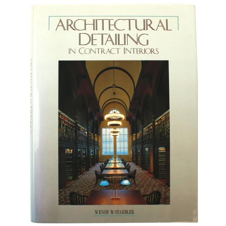 Beautiful Architectural Detailing In Contract Interiors For Sale
