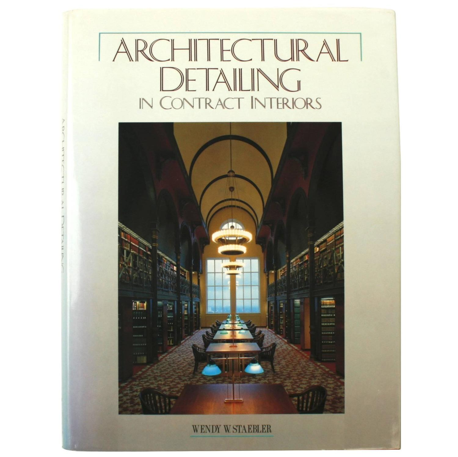 Attractive Architectural Detailing In Contract Interiors For Sale At 1stdibs