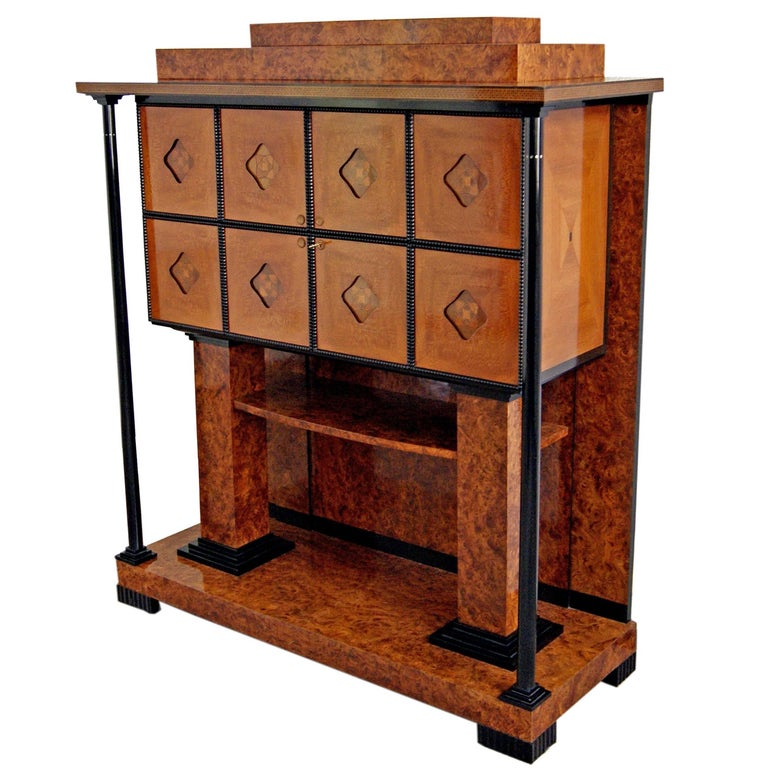 Josef Maria Olbrich Music Room Cabinet Darmstadt Germany made c.1900 For Sale