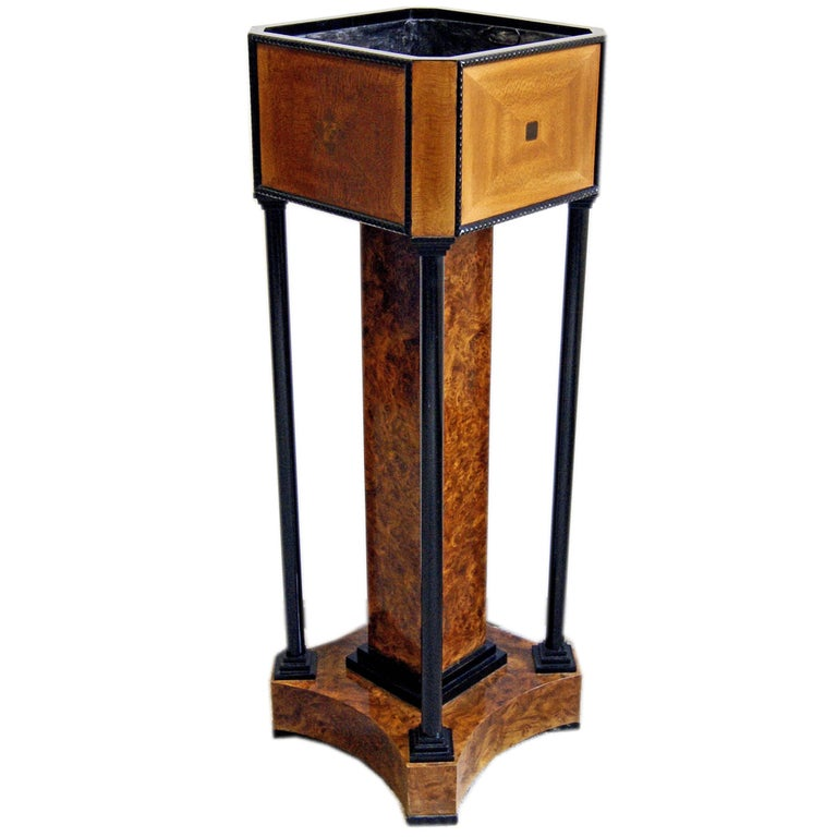 Josef M.Olbrich Music Room Flower Stand Planter Darmstadt, Germany, circa 1900 For Sale