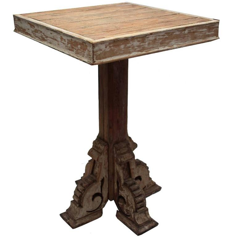 Architectural End Table At 1stdibs