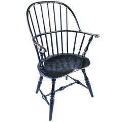 18th Century Pennsylvania Knuckle Arm Windsor Chair