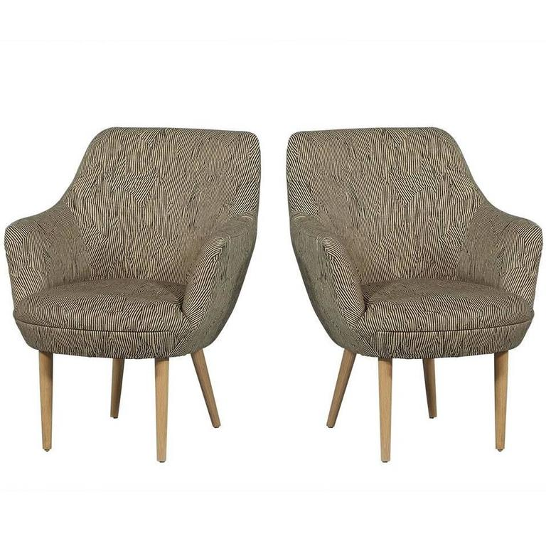 Modern Upholstered Armchairs For Sale At 1stdibs