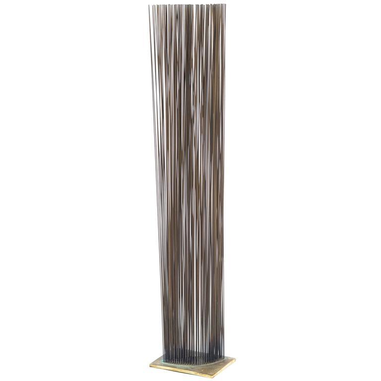 Bertoia Studio Sonambient Sculpture Featuring 176 Harry Bertoia Rods