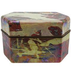 Art Glass Box by Jack Ink