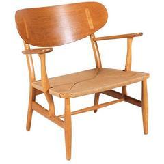 Hans J. Wegner Ch-22 Lounge Chair for Carl Hansen & Son